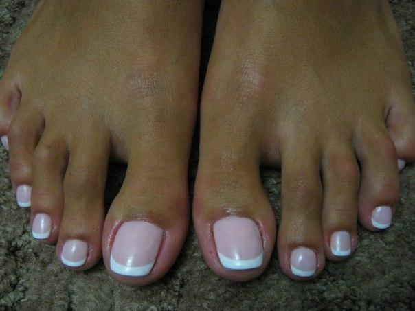 Наращивание ногтей на ногах цена